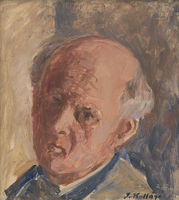 Jozef Kollár – Autoportrét
