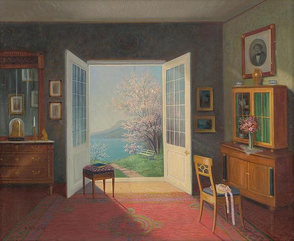 Hermann Klingsbögl - Interiér izby