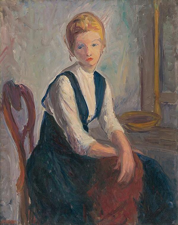 Michal Kern - Sediace dievča