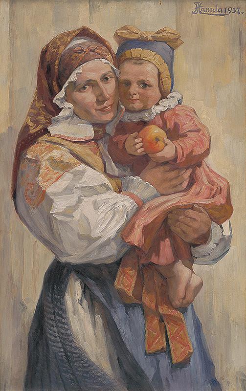 Jozef Hanula – Matka s dieťaťom