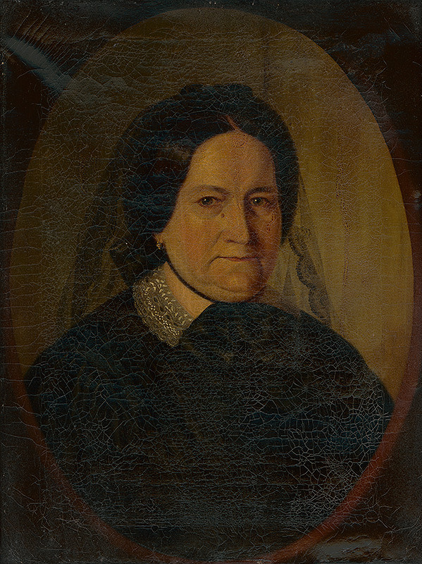 Eduard Ballo - Portrét Šarloty Ballovej