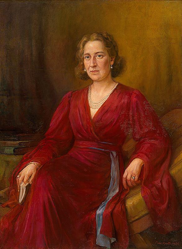 Maximilián Kurth - Portrét dámy