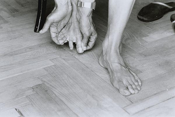 Anna Daučíková – Bez názvu (My Feet I, 5)