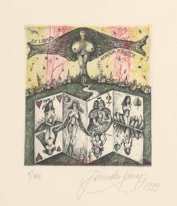 Miroslav Knap – Ex libris - Gordon P. Smith