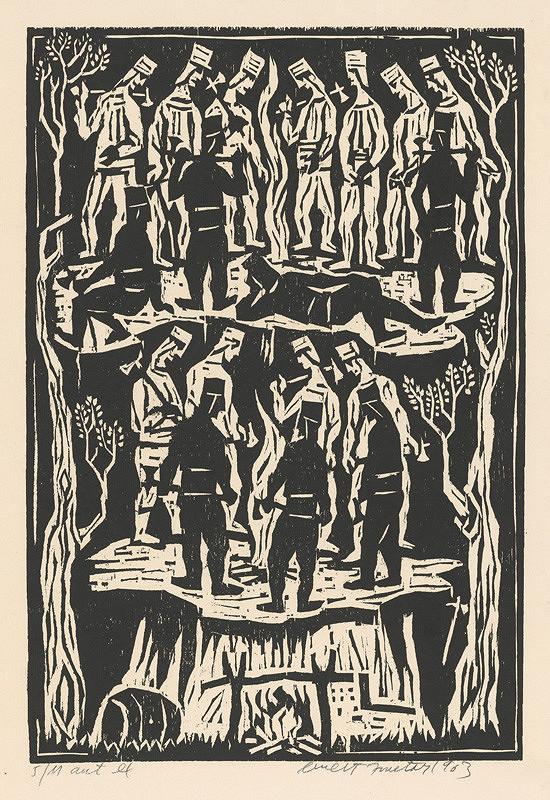 Ernest Zmeták - Ilustrácia k zbojníckym piesňam
