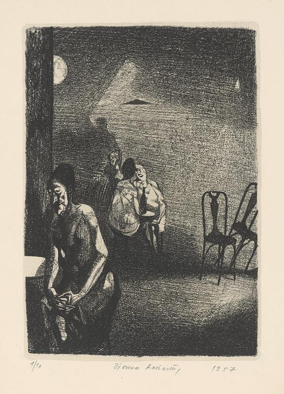 Vincent Hložník – Čierna kaviareň