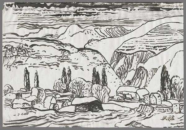 Ignác Kolčák – Dedina v horách