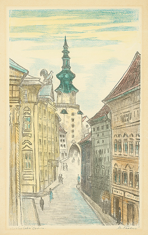 Matilda Čechová – Michalská brána
