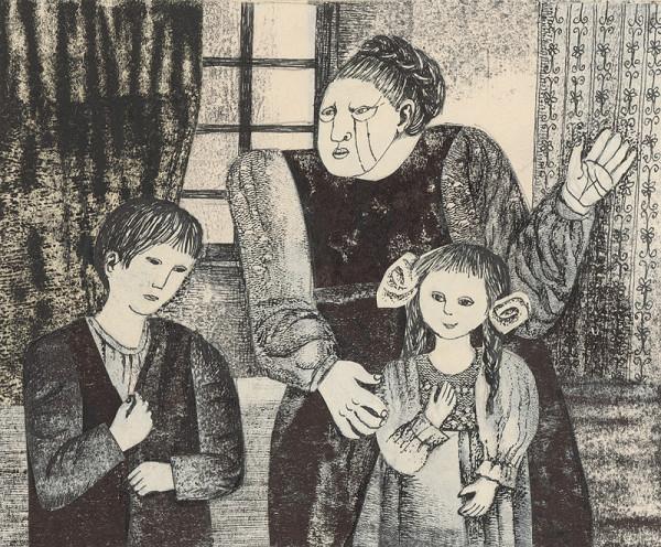 Běla Kolčáková - Stará pestúnka a deti