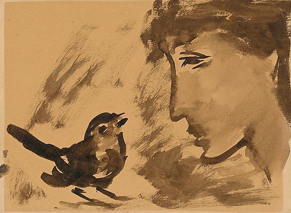 Ernest Špitz - Chlapec s vtáčikom