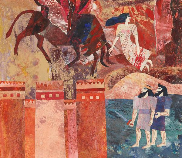 Běla Kolčáková - Boj s nebeským býkom