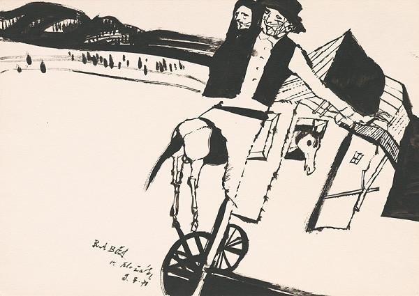Vincent Hložník - Kresba z Oravy XXX.