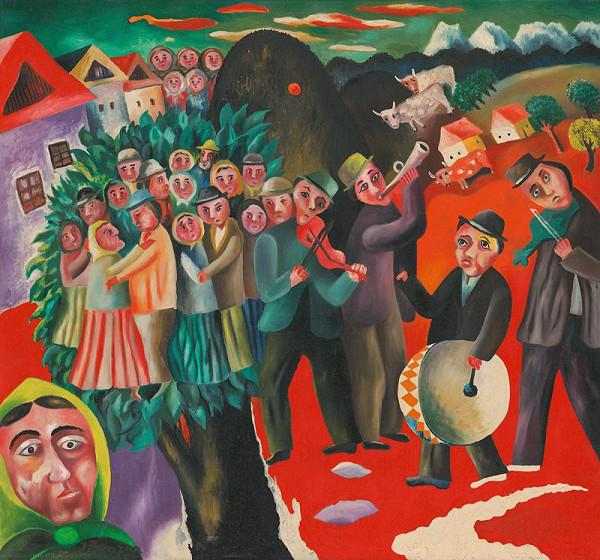 Július Považan - Tanec na dedine