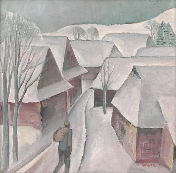 Ignác Kolčák – Zima v Malatinej