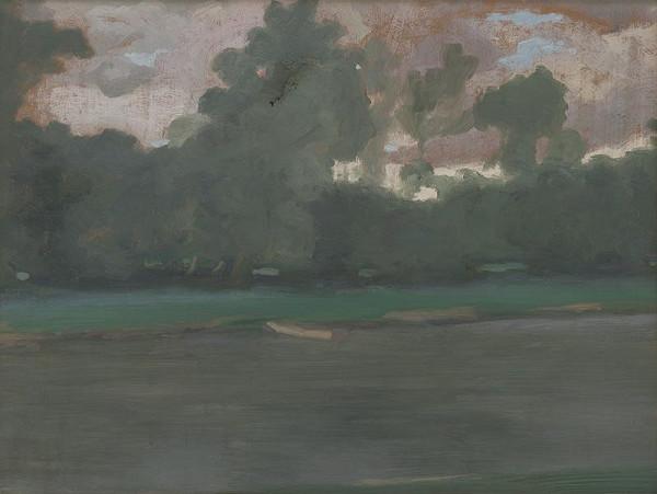 Alexander Kubínyi – Krajina s vodou