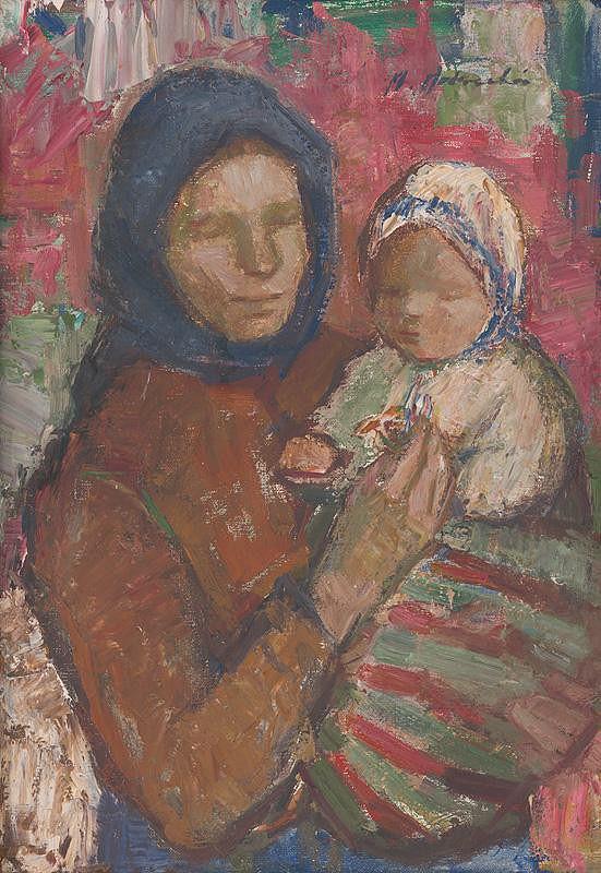 Mária Medvecká – Červený kvietok