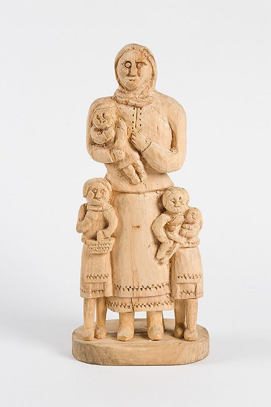 Štefan Siváň st. – Matka so štyrmi deťmi