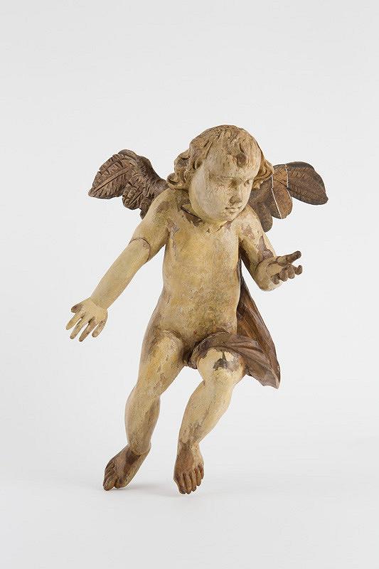 Slovenský rezbár z 2. polovice 18. storočia - Anjel