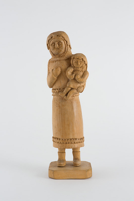Štefan Siváň st. – Nitranka s dieťaťom