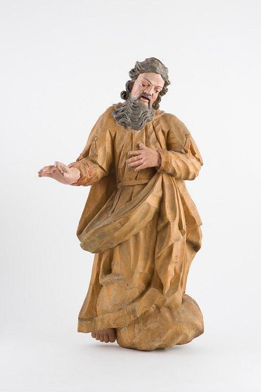 Slovenský rezbár z 18. storočia – Boh - otec