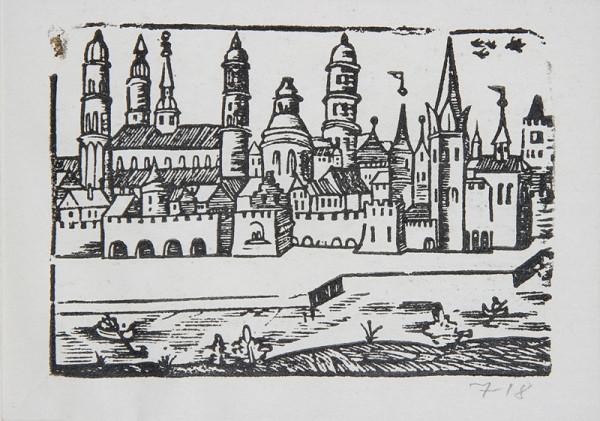 Neznámy autor – Mesto s vežami