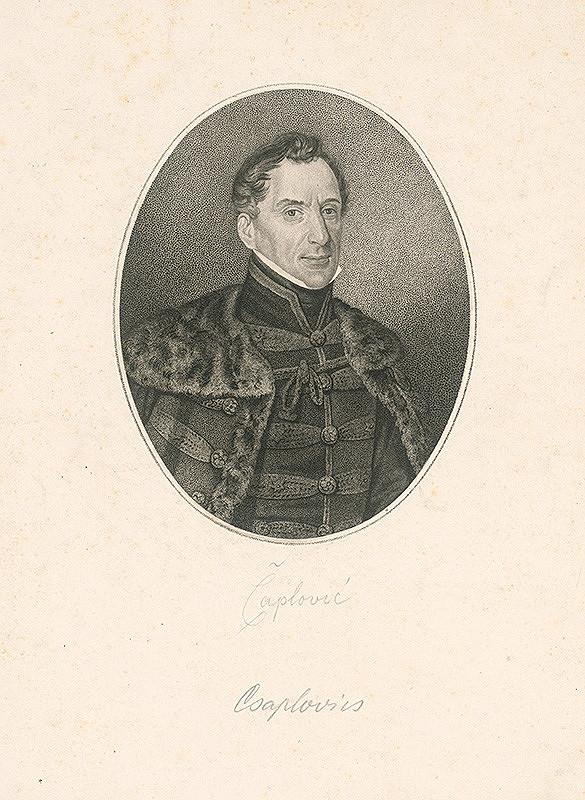 Neznámy autor – Portrét Čaploviča