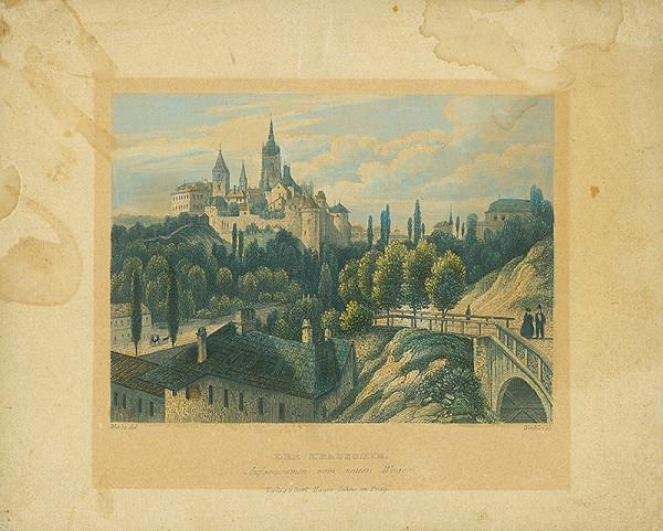 Henry Winkles, Karl Würbs – Praha – Hradčany
