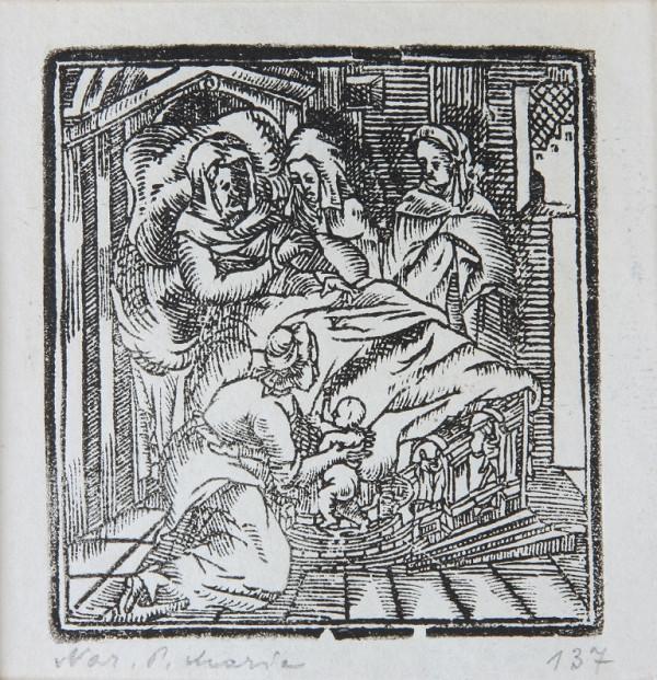 Neznámy autor – Narodenie Panny Márie