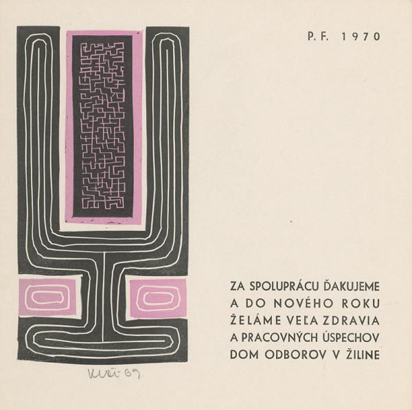 Fero Kráľ – P.F. 1970