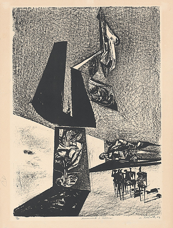 Vincent Hložník – Monument s lebkou