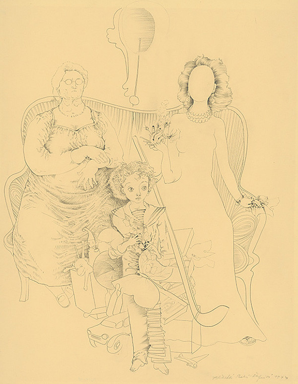 Alžbeta Štefunková-Szabová – Rodinné portréty III.