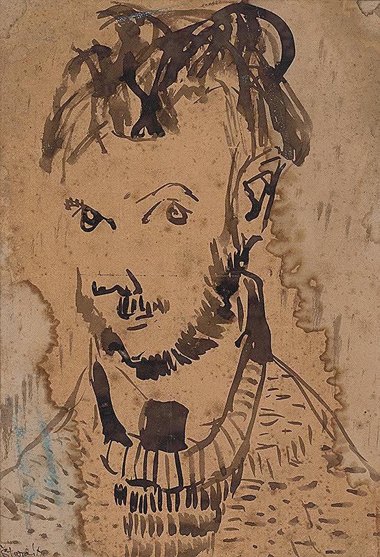 Jozef Šturdík - Autoportrét