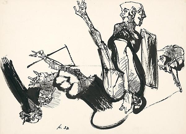 Vincent Hložník – Kresba