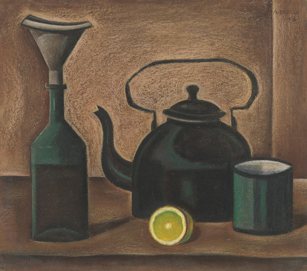 Andrej Barčík – Zátišie s čajom
