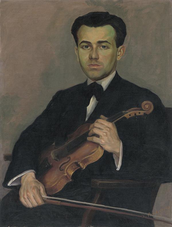 Karol Ondreička - Portrét Z. Arvaya