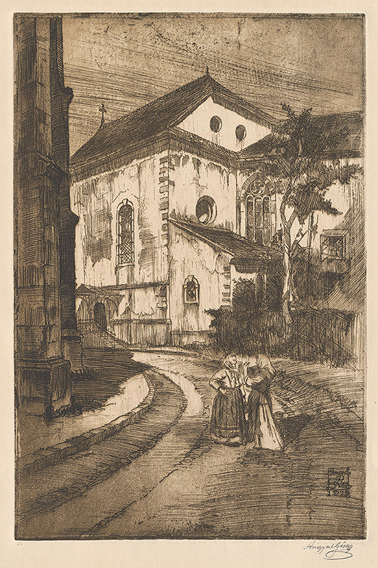 Gejza Angyal - Banská Bystrica Slovenský kostol