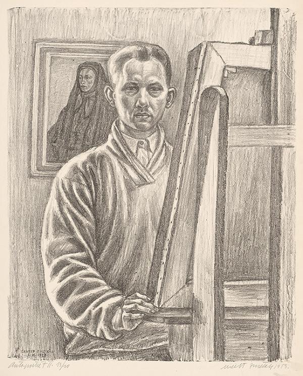 Ernest Zmeták - Autoportrét