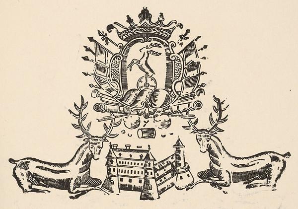 Slovenský grafik z 2. polovice 18. storočia - Pálfyovský znak