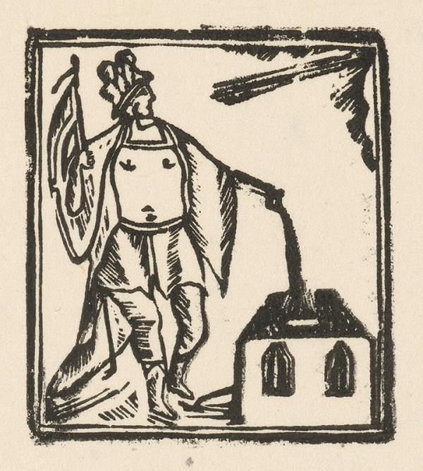 Moravský grafik z prelomu 18. - 19. storočia – Svätý Florián