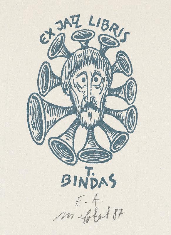 Milan Sokol – Ex libris T.Bindas