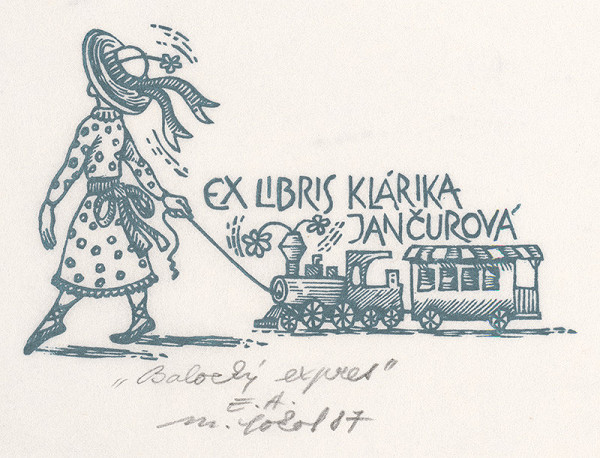 Milan Sokol – Ex libris K.Jančurová