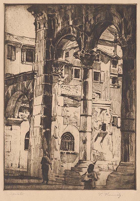 Viktor Hermély – Palác Diokleciána