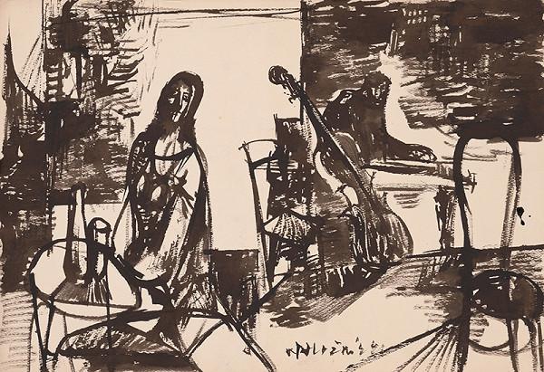 Vincent Hložník - Kresba VI.