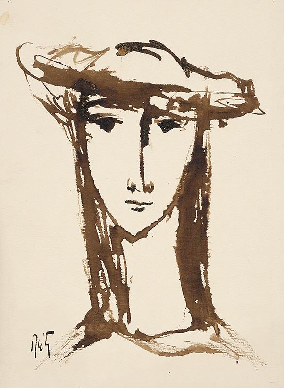 Ernest Špitz – Kresba hlavy II.