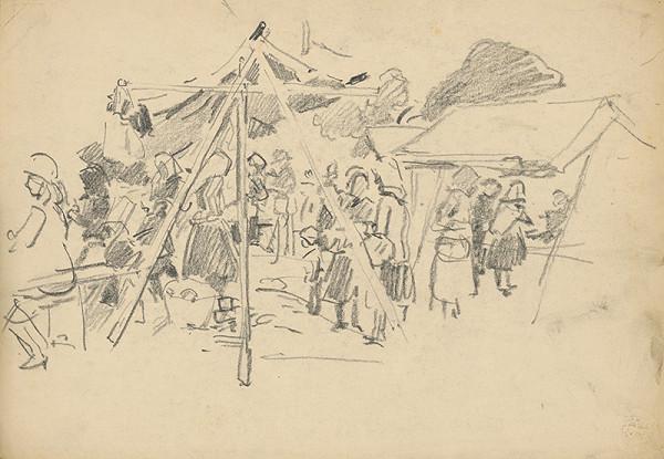 František Gyurkovits - Náčrt z trhu
