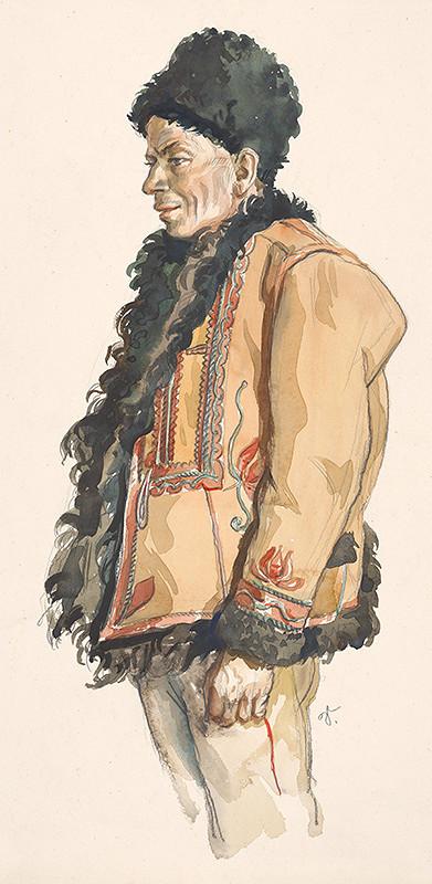 Jaroslav Vodrážka – Muž v kožuchu