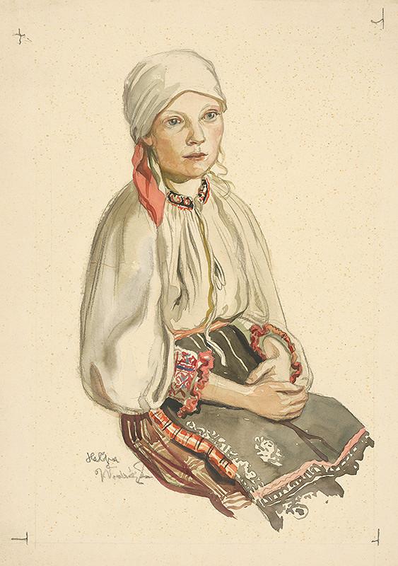 Jaroslav Vodrážka – Dievča v šatke