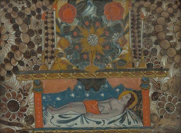 Slovenský maliar z 19. storočia - Boží hrob
