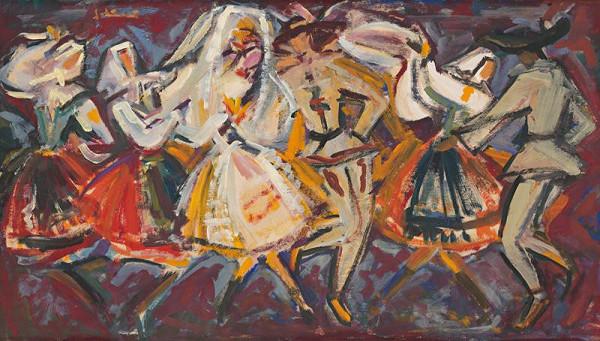 Sibylla Greinerová – Svadobný tanec