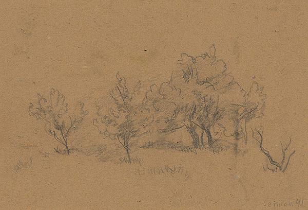 Ervín Semian – Štúdia krajinky
